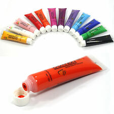 12ml Paint Tube Draw Painting 12 Colors 3D Acrylic Nail Art  Paint  For Artists