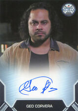 Marvel Agents of SHIELD Season 2 Autograph Card Geo Corvera as Francis Noche