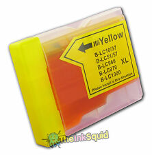 1 Yellow LC970 Y Ink Cartridge for Brother DCP-135C