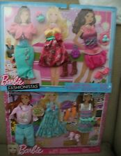 BARBIE FASHIONISTAS FASHION CLOTHES 2-PACK 6 OUTFITS & ACCESSORIES  *NEW*
