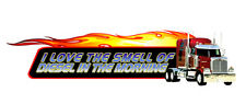 WESTERN STAR  TRUCK DECAL 'DIESEL IN THE MORNING'