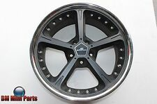 "AC SCHNITZER 2 PIECE ALLOY RIM BLACK / CHROME 20"" NLA 3611607"