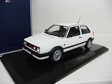 VW Volkswagen Golf 2 II G60 white Norev 1:18 FREE SHIPPING worldwide