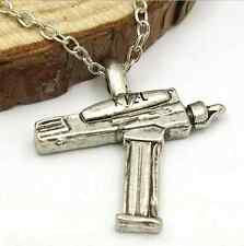 Star Trek phaser pistol Pendant Necklace Game Charm star wars sttos sttng stv