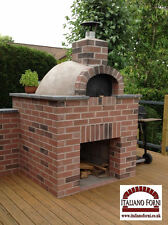 Italiano Forni Wood Fired Burning Pizza Oven Delux Kit - Size Does Matter !!!