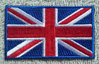 UNITED KINGDOM FLAG PATCH Embroidered Badge 4.5cm x 6cm Union Jack Great Britain
