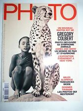PHOTO FRENCH MAGAZINE #417 mars 2005 Gregory Colbert