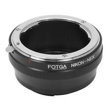 FOTGA Nikon AI Objektiv Lens Adapter für Sony Alpha A7 Nex 7 6 5 5N 3 3N 3VG10E
