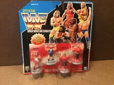 WWF Hasbro Mini Vintage Wrestling Figures MOC For Rumble Ring