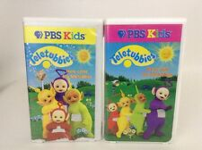 Teletubbies LOT of 2 VHS Vol 1 & 2 Dance with/ Here Come the Teletubbies Movies