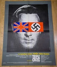 Affiche de cinéma : TRIPLE CROSS de TERENCE YOUNG
