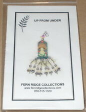 "Fern Ridge ""Up from Under"" Mushroom Beaded Scissor Fob Kit NIP"