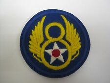 USAAF 8th Air Force BADGE - WW2 Repro American Airforce Patch/Insignia