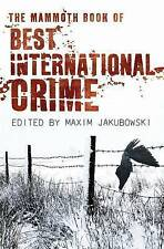 The Mammoth Book Best International Crime (Mammoth Books)
