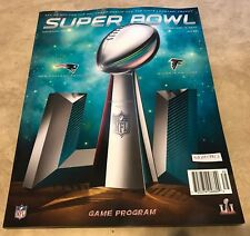 Super Bowl 51 LI Official Program 2017 Patriots vs Falcons SHIPPED IN A BOX NEW
