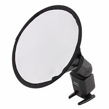 Round Flash Softbox Diffuser for Canon Nikon Pentax Nissin Sony YONGNUO Speedlit