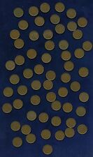 MACAU / MACAO (CHINA)  1952  5 AVOS COINS, MOSTLY XF, A FEW AU, LOT OF (59)