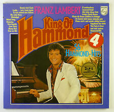 "2 x 12"" LP - Franz Lambert - King Of Hammond Nr. 4 - B3937 - washed & cleaned"