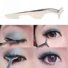 Pro False Eyelashes Extension Tweezer Beauty Tool Applicator Remover Clip Nipper