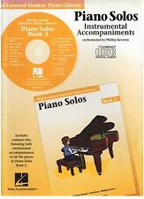Hal Leonard Student Piano Library Piano Solos Book 3 CD ONLY, NEW