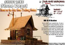 Short Line Stone Depot Kit Tom Yorke/Scale Model Masterpieces HO Fine Craftsman