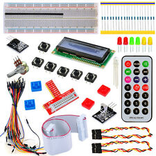 Starter kit for Raspberry Pi 1/2 Remote Control LCD1602 GPIO pinboard LED