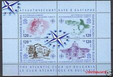 BULGARIA 1997 - ATLANTIC CLUB - NATO - MINI SHEET - MNH