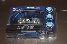 JC Pro 4 Gauge Amp Kit Complete Power Cable Wiring for Amplifier Installation
