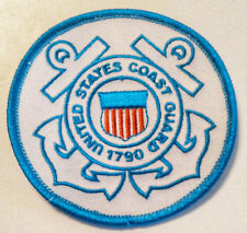 US COAST GUARD 3 INCH ROUND PATCH - MADE IN THE USA!
