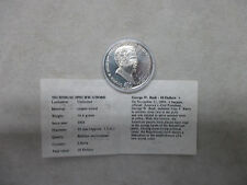 GEORGE W BUSH 10 DOLLARS 2004 UNCIRCULATED COIN AMERICAN MINT WITH COA