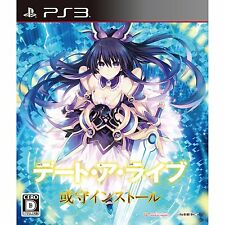Used PS3 Date A Live: Ars Install Japan Import Free Shipping