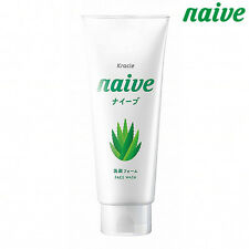 naive☆Kracie Japan-Facial Foam Cleanser Aloe extract 130g