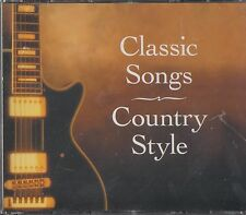 READERS DIGEST -Classic Songs Country Style 5 CD (NEW) Best Of (Willie Nelson)