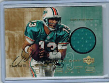 2000 00 DAN MARINO UPPER DECK GAME JERSEY GREATS SIGNATURE AUTO