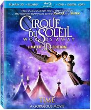 Cirque Du Soleil . Worlds Away . 3D + 2D . Limited Edition . DVD + Blu-ray . NEU