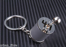 Short Shifter Gear Stick Knob Keyring Keyfob Keychain Metal Turbo Mini Drift Car