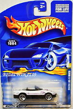 HOT WHEELS 2000 MAZDA MX-5 MIATA #1084 WHITE
