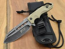 Messer MTech USA XTREME TACTICAL Fighter KNIFE Military Survival MTX8136TN