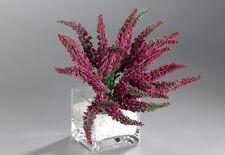 Erika Erikabund Höhe 26 cm Mit 24 Blüte Fuchsia Kunstblumen Heidekraut