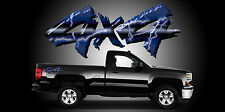 2 4x4 Truck Bedside Decals Stickers-A17B4X4