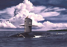 USS TAUTOG SSN 639 - HAND FINISHED, LIMITED EDITION (25)