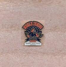 2003 World Junior Hockey Championship Group A Halifax Canada Official Pin Old