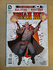 ALL STAR WESTERN FEATURING JONAH HEX #0 1ST PRINT DC COMICS (2012) THE NEW 52