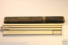 A.W FABER CASTELL SLIDE RULE 1/91391 A.W FABER 367 D.R.G.M 371190 JOB LOT OF 2