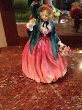 """Royal Doulton Porcelain Figure """"Lady Charmian"""" 8"""" H Good Condition"""