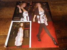 CELINE DION & VANESSA PARADIS - Mini poster couleurs !!!!!!!!!!!!!!!