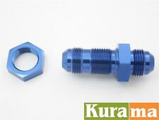 AN -8 (AN8 AN 08) STRAIGHT Bulkhead Car Performance Fittings with NUT