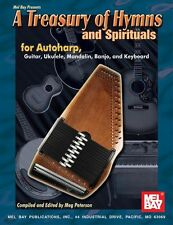 MEL BAY TREASURY HYMNS SPIRITUALS AUTOHARP Learn to Play Harp Music Book