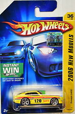 HOT WHEELS 2006 NEW MODELS DATSUN 240Z YELLOW FACTORY SEALED