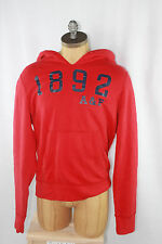 AUTH Abercrombie & Fitch Men's Red 1892 Hoodie XL